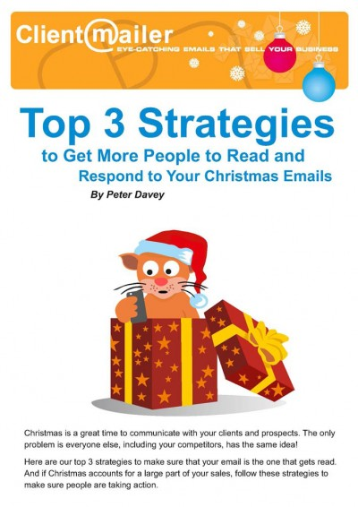 Top 3 Strategies for Christmas Emails by ClientMailer