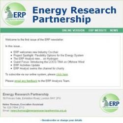 Energy Research Partnership