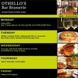 Othello Meals