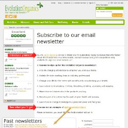 Sign Up Pages from ClientMailer